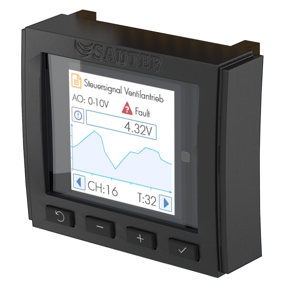Operating and indicating unit for I/O modules, modu600-LO