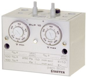 Pneumatic volume-flow controller