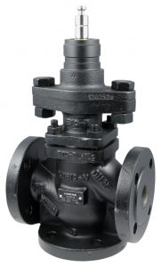 3-way flanged valve, PN 40 (pn.)
